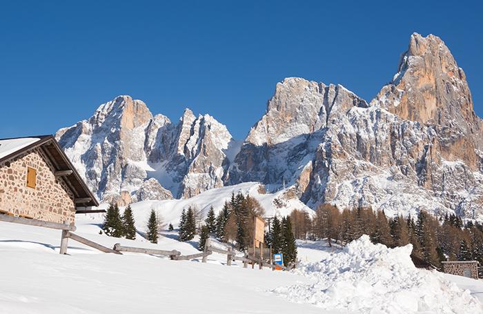 montagna attività invernali